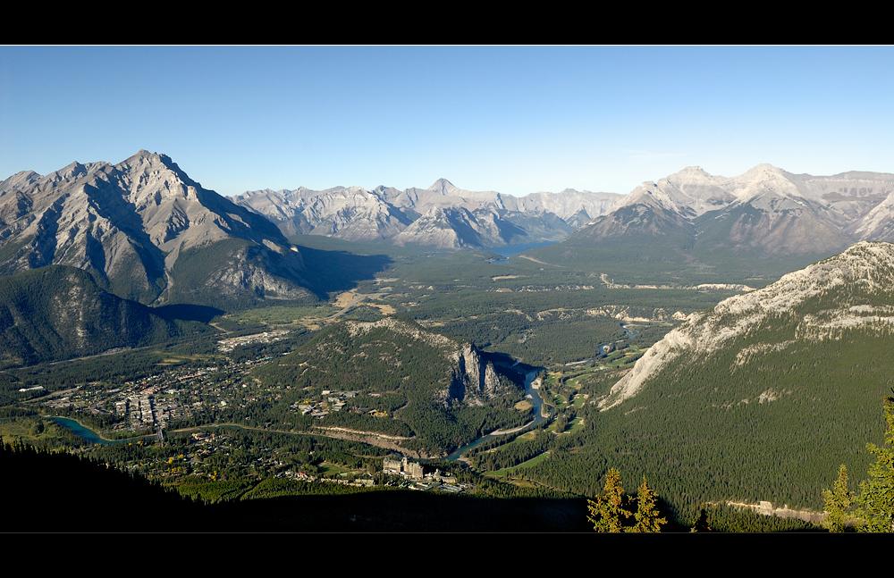 [ Blick über Banff ]