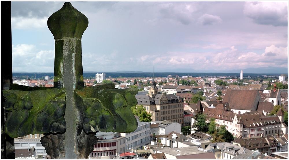 ... Blick über Basel ...