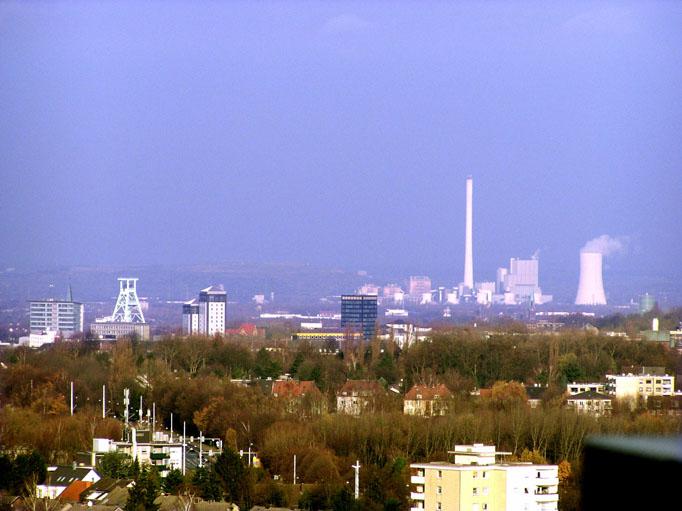Blick über Bochum bis Baukau