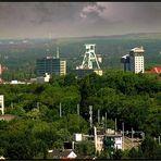 Blick über Bochum - Stadtmitte