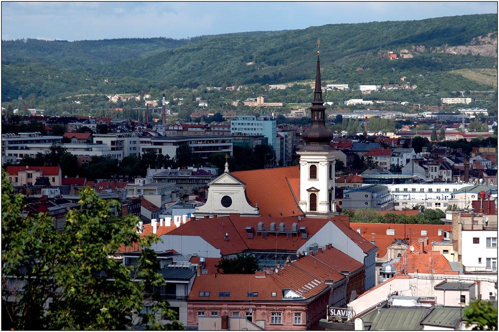 ... Blick über Brno ...