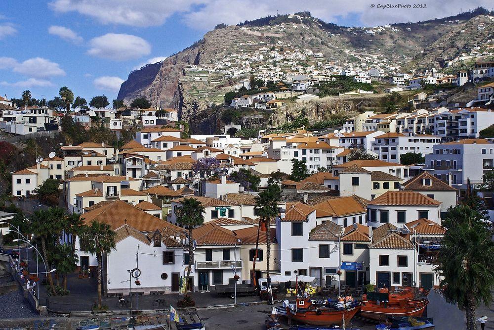 Blick über Camara de Lobos