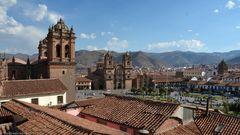 Blick über Cusco...