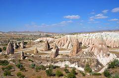 Blick über das Rosa-Tal in Kappadokien