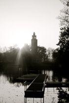 Blick über den Adolf Mittag See