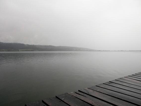 Blick über den Greifensee, Schweiz