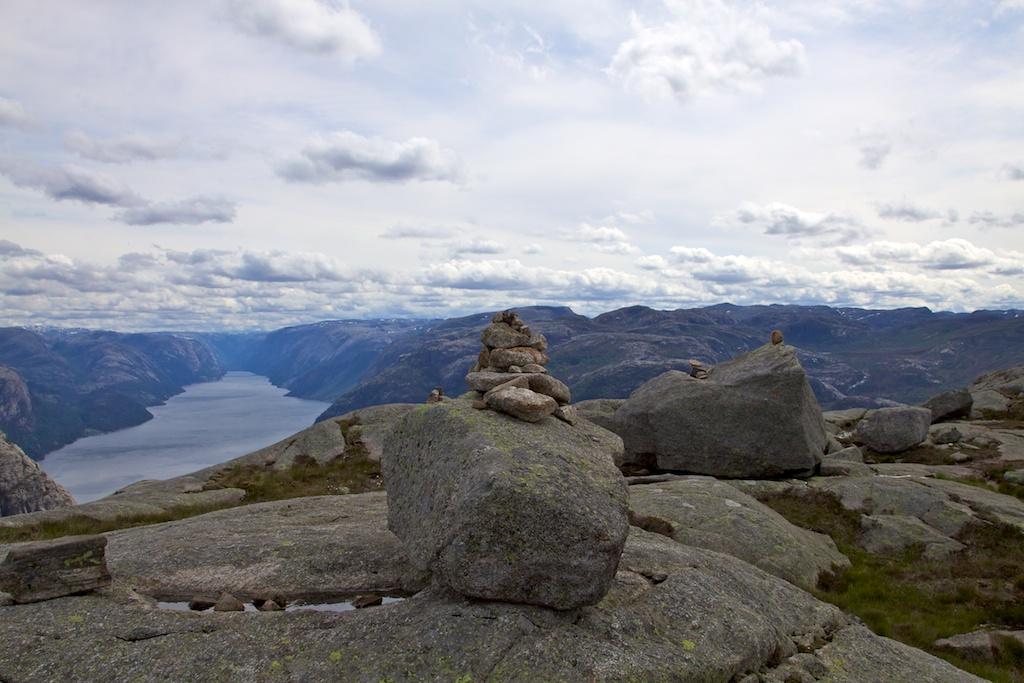 Blick über den Lysefjord