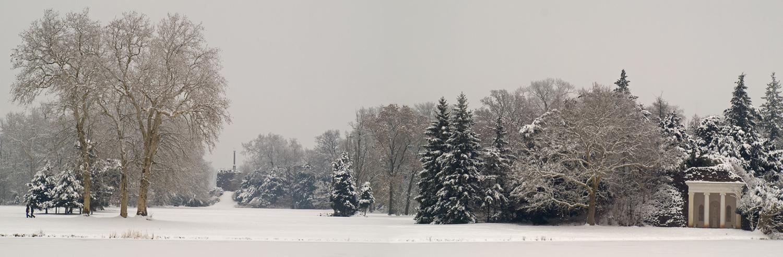 Blick über den (zugefrorenen) See (2)
