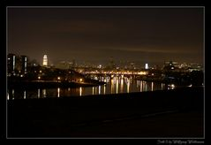 Blick über die Altstadt bei Nacht