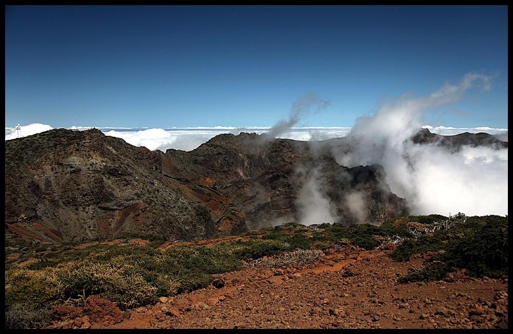 Blick über die Berge von La Palma (III)