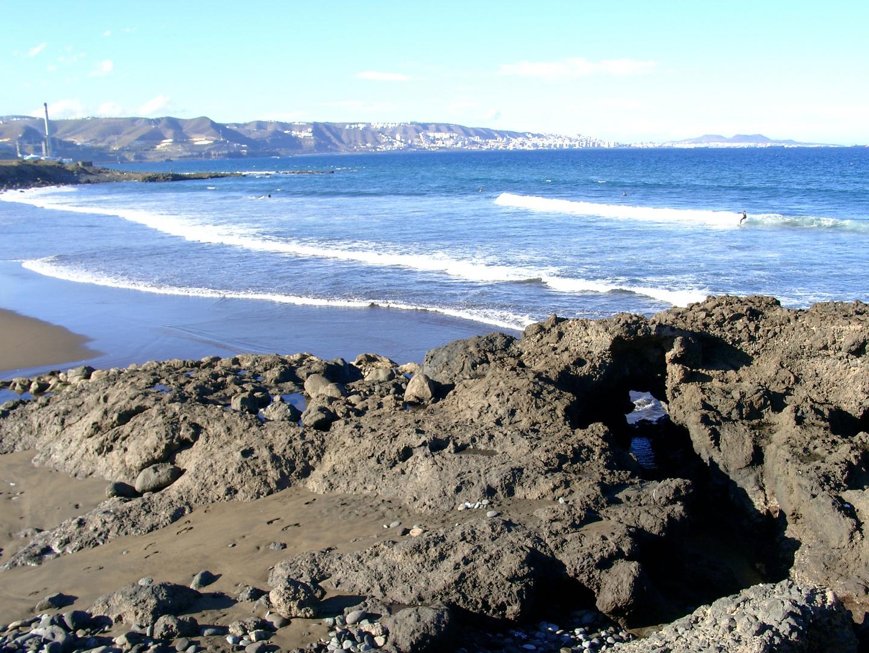 Blick über die Bucht von Las Palmas de Gran Canaria