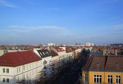 Blick über die Dächer Ost-Berlins
