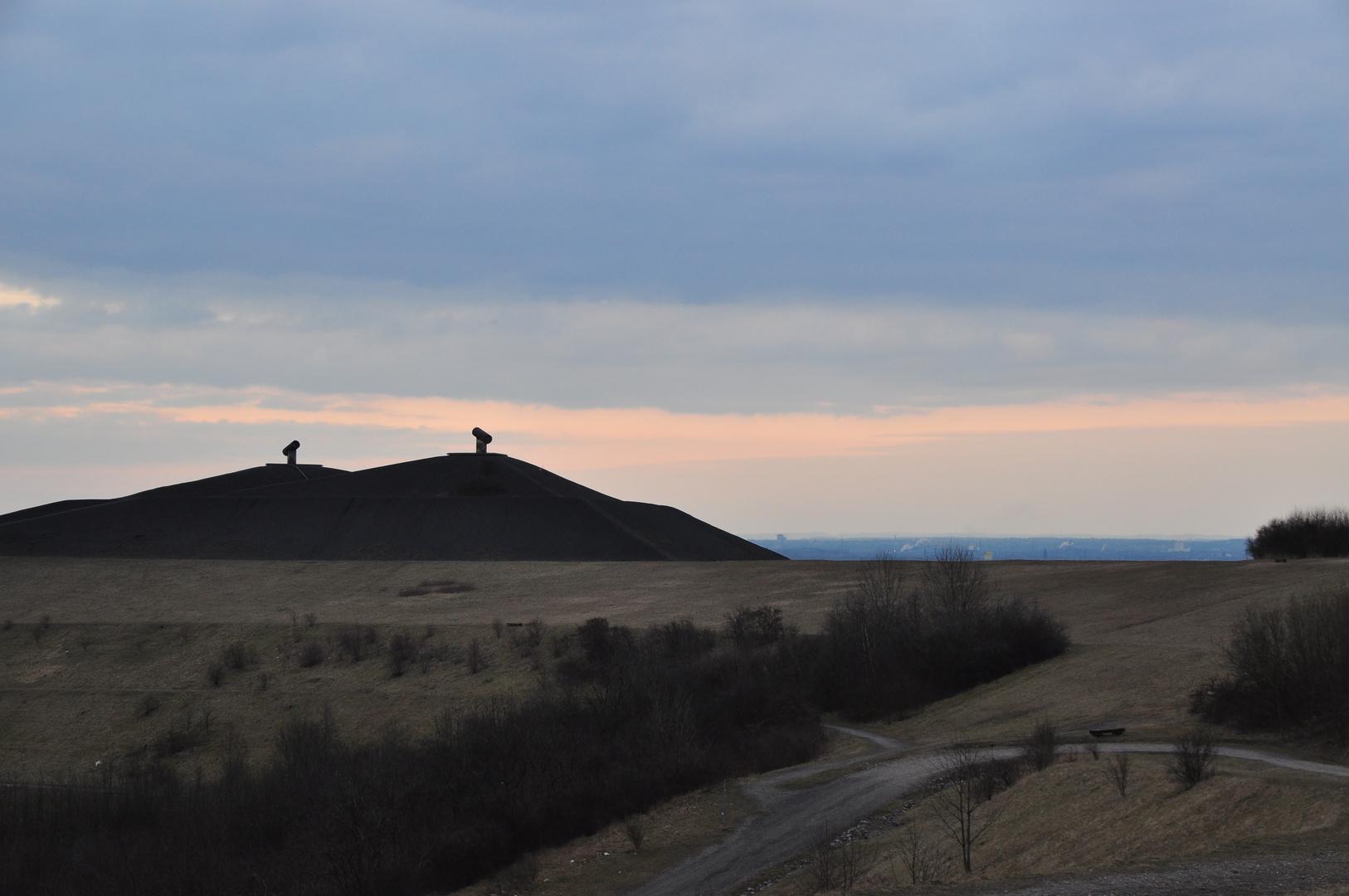 Blick über die Halde Rungenberg