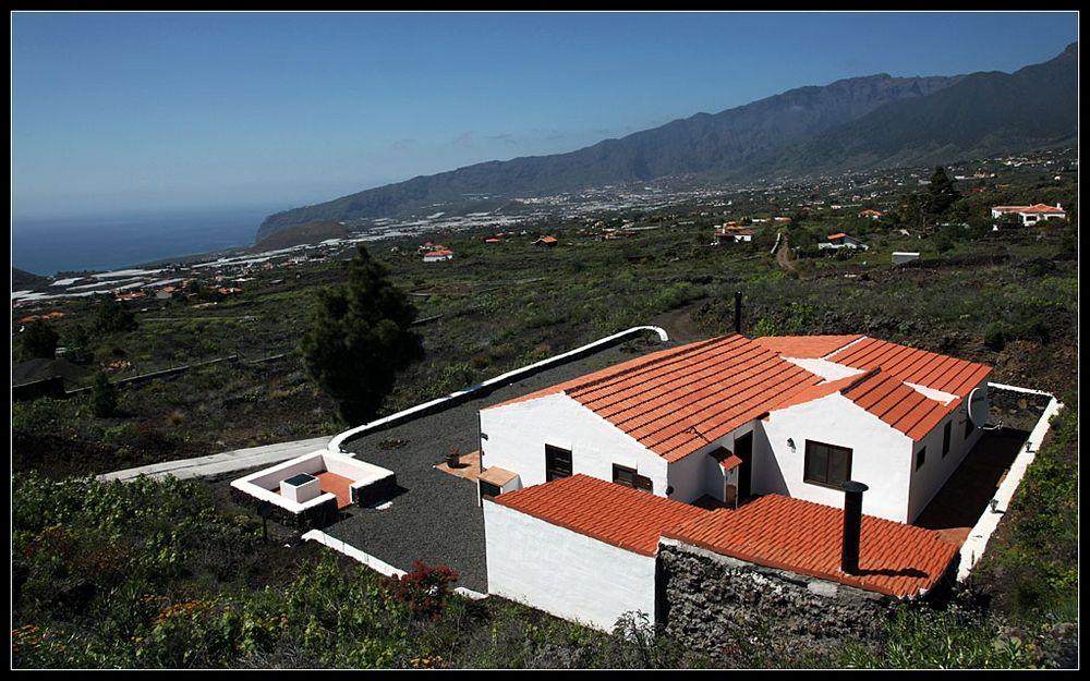 Blick über die Landschaft von La Palma