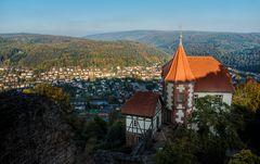 Blick über die Neckar-Landschaft