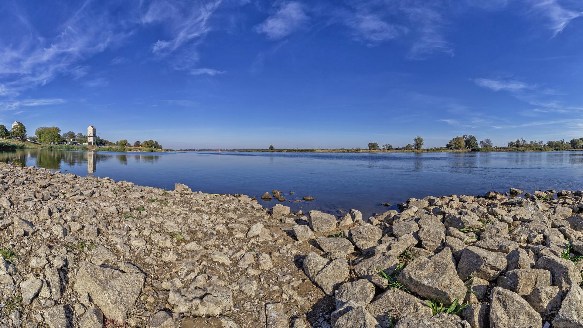 Blick über die Oder