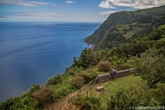 Blick über die Ostküste am Miradouro da Ponta do Sossego
