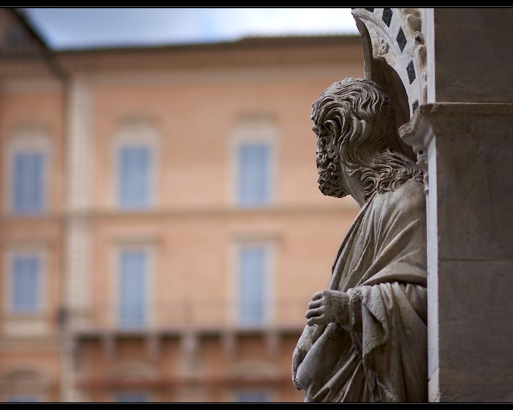 Blick über die Piazza del Campo - Siena