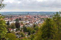 Blick über die Unterallgäuer Kreisstadt Mindelheim