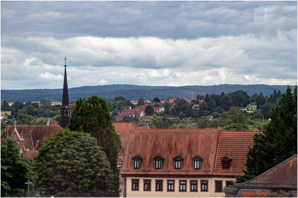 Blick über Fulda