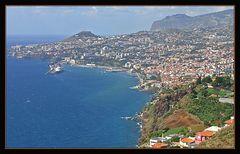 Blick über Funchal