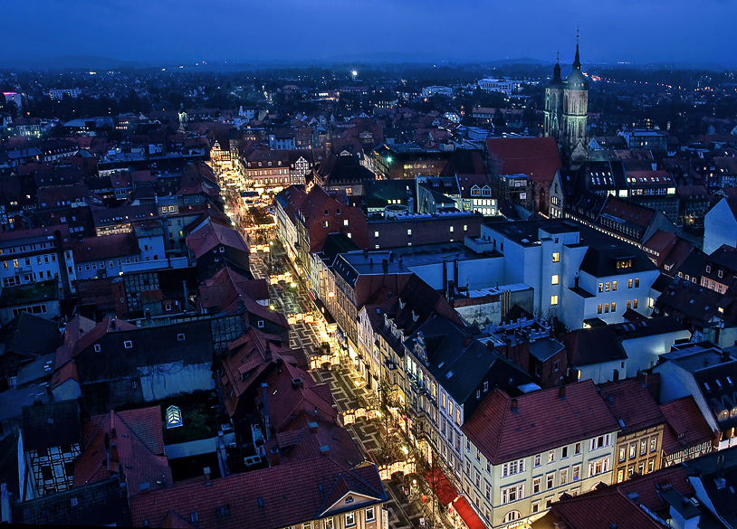 Blick Göttingen