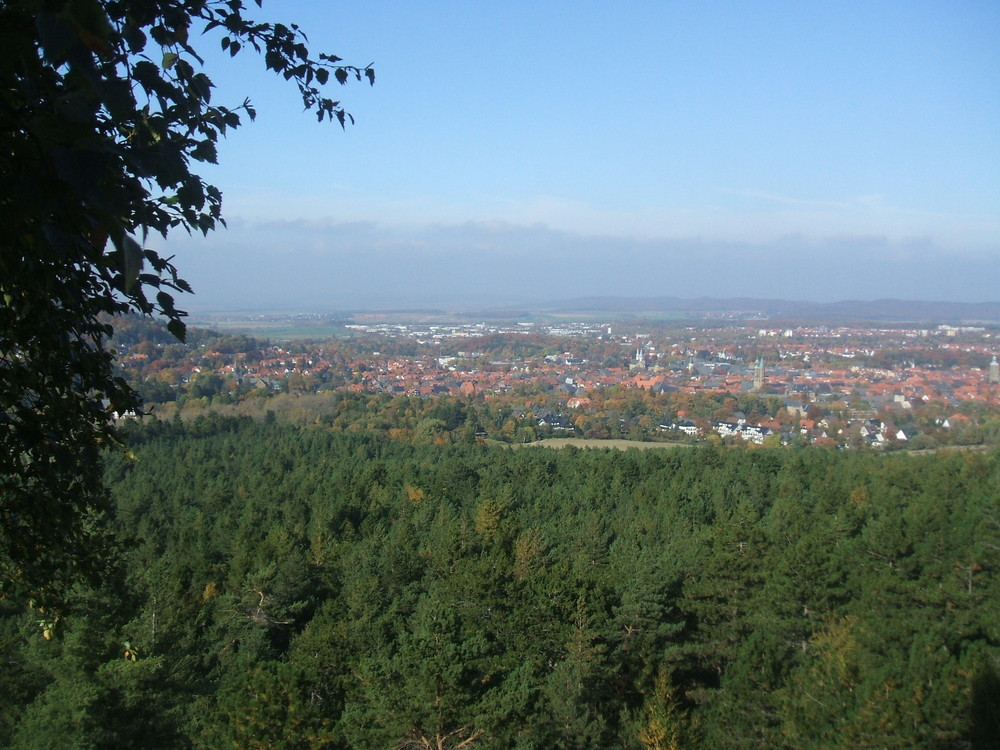Blick über Goslar