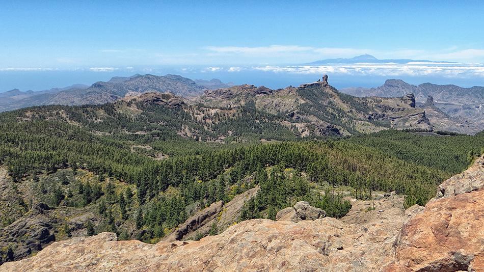 Blick über Gran Canaria