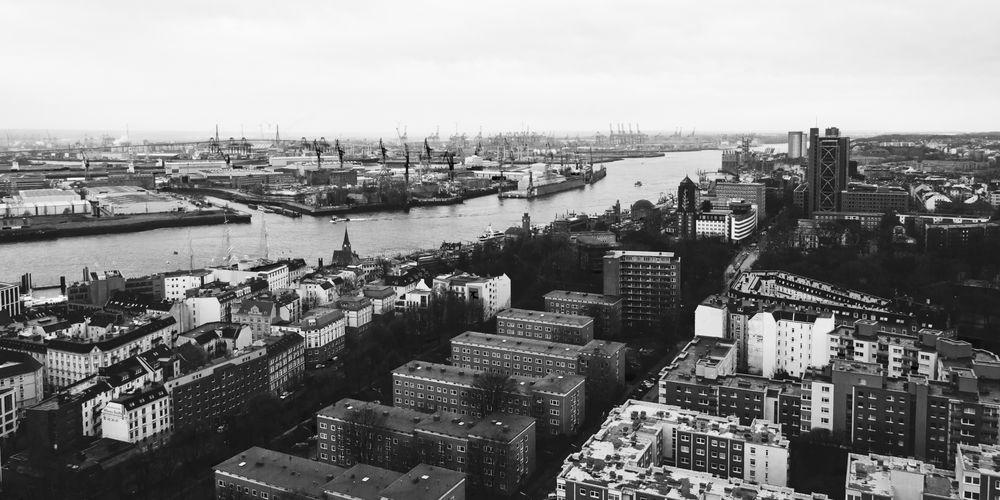 Blick über Hamburg