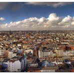 Blick über Hamburg Panorama