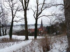 Blick über Lauenburg