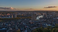 Blick über Liège