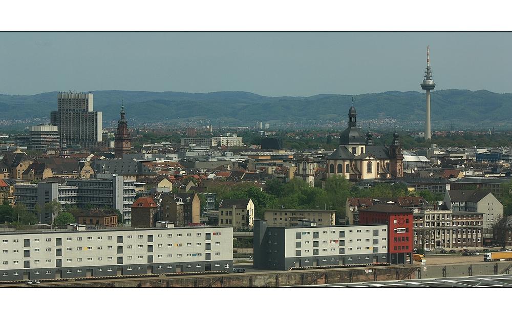 Blick über Mannheim