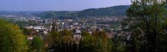 Blick über Marburg