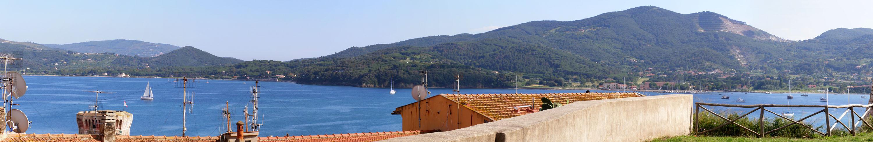 Blick über Porto Ferraio