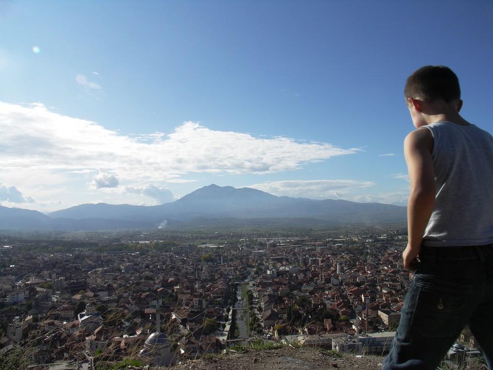 Blick über Prizren KOSOVO