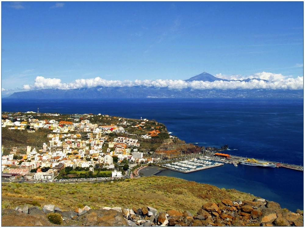 Blick über San Sebastian, ...