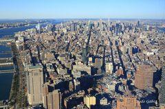 Blick vom 1WTC in Richtung ESB
