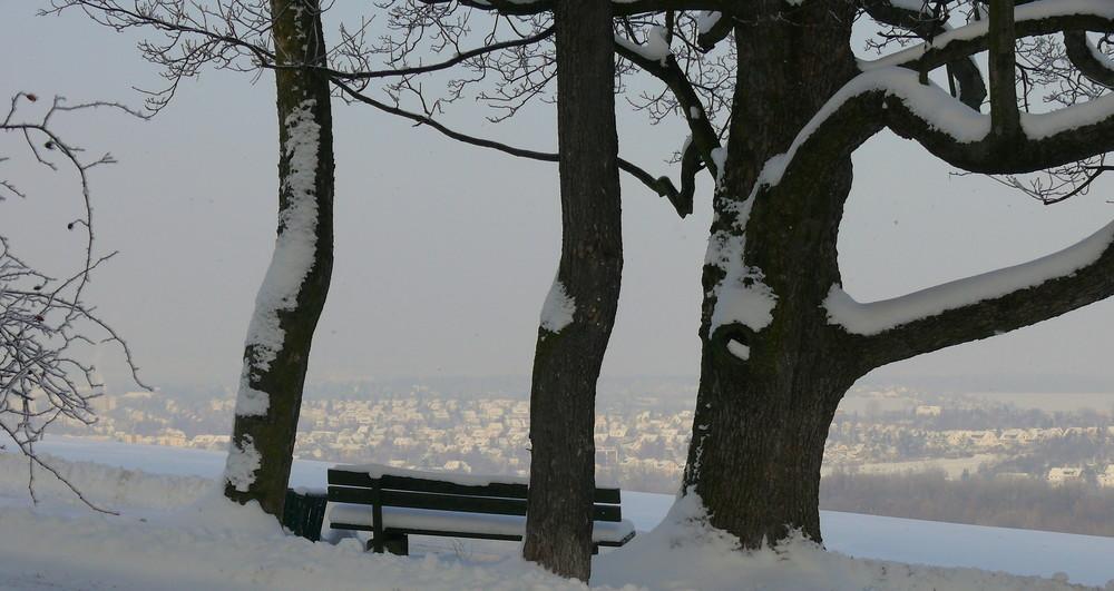 blick vom belvedere nach oberweimar