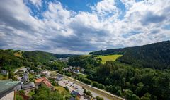 Blick vom Bergfried -  BurgScharfenstein (14)