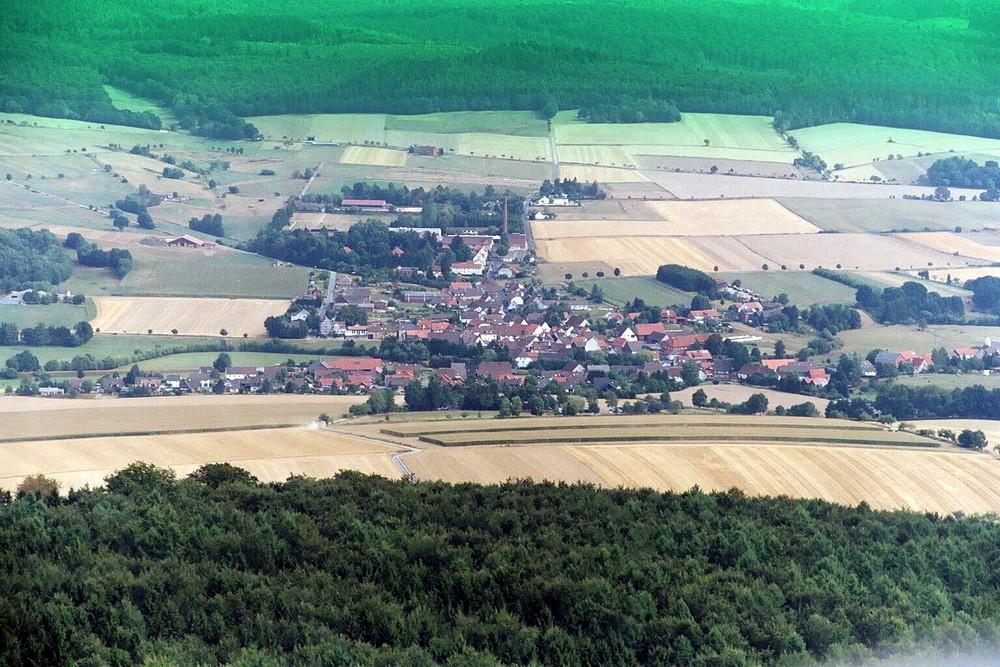 Blick vom Buchenberg