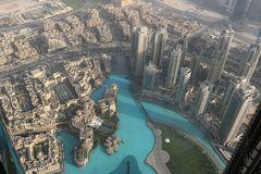 Blick vom Burj Khalifa Dubai 2017