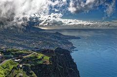 ... Blick vom Cabo Girao ...