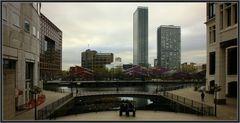 Blick vom Cabot Square
