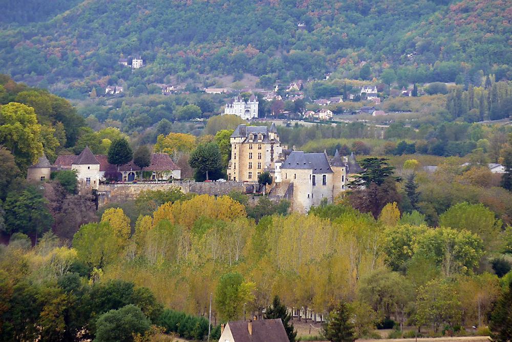Blick vom Chateau Marqueyssac Beynac - 1