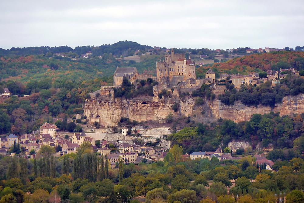 Blick vom Chateau Marqueyssac Beynac - 2