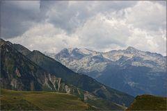 Blick vom Col du Tourmalet