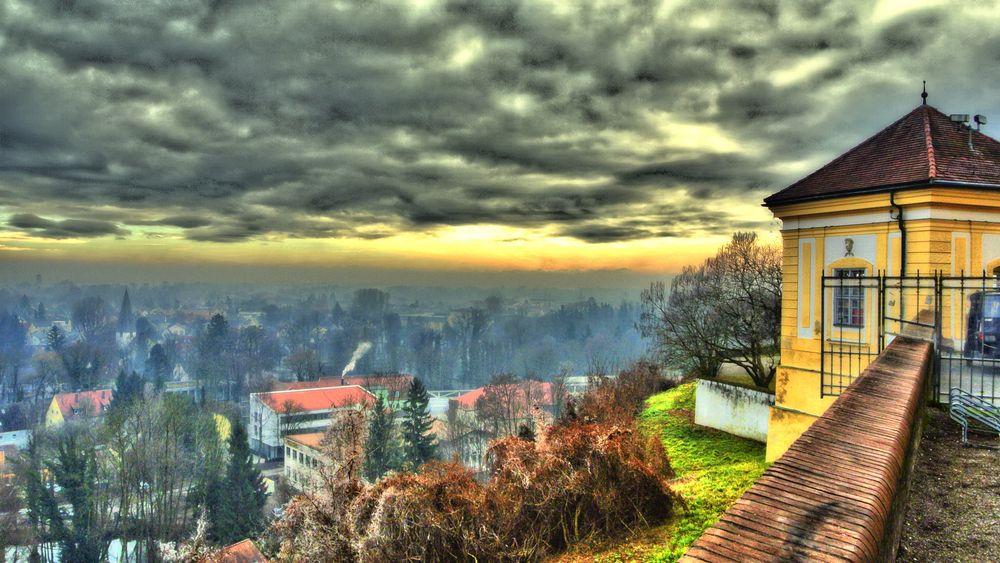 Blick vom Dachauer Schloßberg