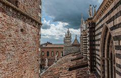 Blick vom Dom in Siena