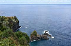 Blick vom Encumeada-Pass im Nordwesten von Madeira